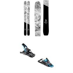 Icelantic Natural 111 Skis 2020 + Salomon S/Lab Shift MNC Alpine Touring Ski Bindings 2020