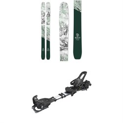Icelantic Natural 101 Skis 2020 + Tyrolia Ambition 12 Alpine Touring Ski Bindings 2020