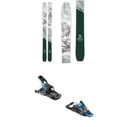 Icelantic Natural 101 Skis 2020 + Salomon S/Lab Shift MNC Alpine Touring Ski Bindings 2020