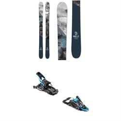 Icelantic Nomad Lite Skis 2020 + Salomon S/Lab Shift MNC Alpine Touring Ski Bindings 2020