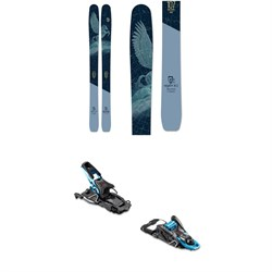 Icelantic Mystic 107 Skis 2020 ​+ Salomon S​/Lab Shift MNC Alpine Touring Ski Bindings - Women's 2020