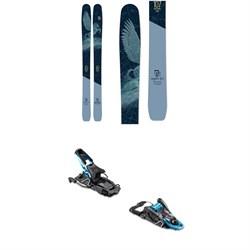 Icelantic Mystic 107 Skis 2020 + Salomon S/Lab Shift MNC Alpine Touring Ski Bindings - Women's 2020