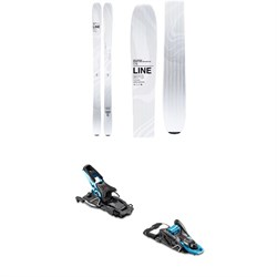 Line Skis Vision 98 Skis 2020 ​+ Salomon S​/Lab Shift MNC Alpine Touring Ski Bindings 2020