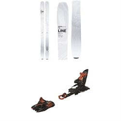 Line Skis Vision 98 Skis 2020 ​+ Marker Kingpin 13 Alpine Touring Ski Bindings 2020