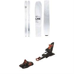 Line Skis Vision 98 Skis + Marker Kingpin 13 Alpine Touring Ski Bindings