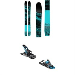 Moment Wildcat Tour Skis 2020 + Salomon S/Lab Shift MNC Alpine Touring Ski Bindings 2020