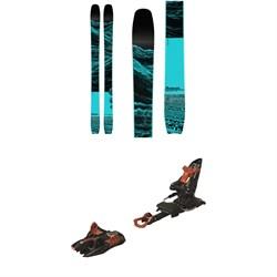 Moment Wildcat Tour Skis 2020 + Marker Kingpin 13 Alpine Touring Ski Bindings 2020