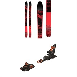Moment Wildcat Tour 108 Skis 2020 ​+ Marker Kingpin 13 Alpine Touring Ski Bindings 2020