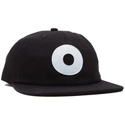 Obey Clothing Block Organic 6 Panel Strapback Hat