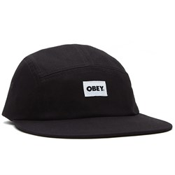 Obey Clothing Bold Label Organic 5 Panel Hat