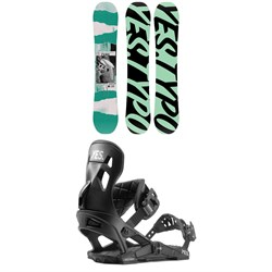 Yes. Typo Snowboard ​+ Now x Yes Snowboard Bindings