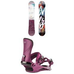 Nitro Mystique Snowboard + Cosmic Snowboard Bindings - Women's 2020
