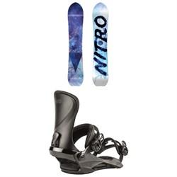 Nitro Drop Snowboard + Cosmic Snowboard Bindings - Women's 2020