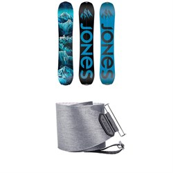 Jones Frontier Splitboard 2020 + Nomad Quick Tension Tail Clip Splitboard Skins