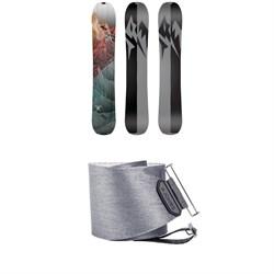 Jones Solution Splitboard 2020 + Jones Nomad Quick Tension Tail Clip Splitboard Skins
