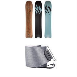 Jones Hovercraft Splitboard 2020 ​+ Nomad Quick Tension Tail Clip Splitboard Skins