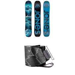Jones Frontier Splitboard 2020 + Nomad Pro Quick Tension Tail Clip Splitboard Skins