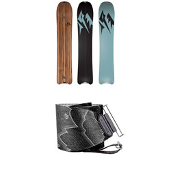 Jones Hovercraft Splitboard 2020 ​+ Nomad Pro Quick Tension Tail Clip Splitboard Skins