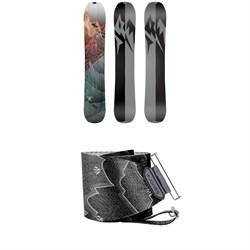 Jones Solution Splitboard 2020 + Nomad Pro Quick Tension Tail Clip Splitboard Skins