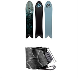 Jones Storm Chaser Splitboard 2020 ​+ Nomad Pro Quick Tension Tail Clip Splitboard Skins