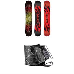 Jones Mountain Twin Splitboard 2020 + Nomad Pro Quick Tension Tail Clip Splitboard Skins