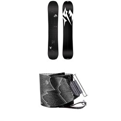 Jones Carbon Solution Splitboard 2020 ​+ Nomad Pro Quick Tension Tail Clip Splitboard Skins