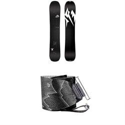 Jones Carbon Solution Splitboard 2020 + Nomad Pro Quick Tension Tail Clip Splitboard Skins