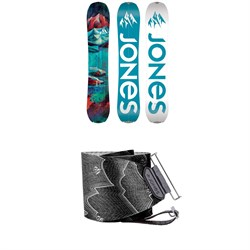 Jones Dream Catcher Splitboard - Women's 2020 ​+ Nomad Pro Quick Tension Tail Clip Splitboard Skins