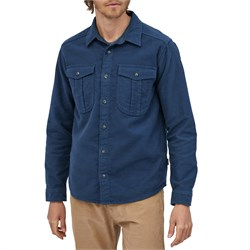 Patagonia Long-Sleeved Topo Canyon Moleskin Shirt