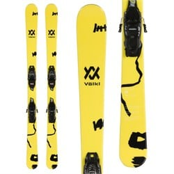 Volkl Revolt Jr Skis ​+ 7.0 VMotion Jr Skis - Big Boys'