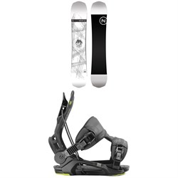 Nidecker Era Snowboard 2020 ​+ Flow Fenix Snowboard Bindings 2020
