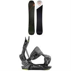 Nidecker Platinum Snowboard + Flow Fenix Snowboard Bindings 2020