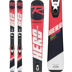 Rossignol Hero Jr Skis ​+ Kid X 4 Bindings - Little Boys'