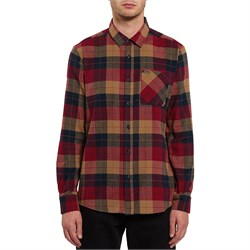 Volcom Caden Plaid Long-Sleeve Flannel