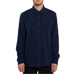 Volcom Caden Solid Long-Sleeve Flannel