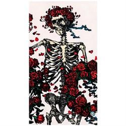 Slowtide Skull & Roses Towel