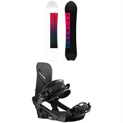 Salomon Pillow Talk Snowboard ​+ Nova Snowboard Bindings - Women's 2020