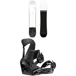Salomon Super 8 Snowboard ​+ Hologram Snowboard Bindings 2020