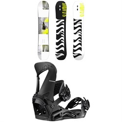 Salomon The Villain Snowboard ​+ Hologram Snowboard Bindings 2020