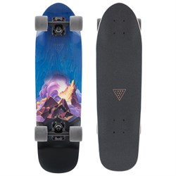 Landyachtz Dinghy Crown Peak Cruiser Skateboard Complete