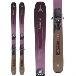 Atomic Vantage 97 C W Skis + Warden MNC 13 Ski Bindings - Women's  - Used