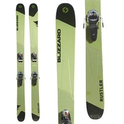 Blizzard Rustler 11 Skis + Look Pivot 14 AW Ski Bindings  - Used