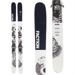 Faction Prodigy 3.0 Collab Skis + Atomic STH2 WTR 16 Ski Bindings  - Used
