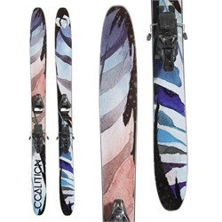 Coalition Snow La Nieve Skis ​+ Salomon STH2 WTR 13 Ski Bindings - Women's  - Used