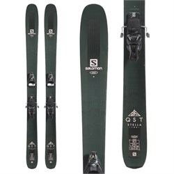 Salomon QST Stella 106 Skis ​+ Salomon STH2 WTR 13 Ski Bindings - Women's  - Used