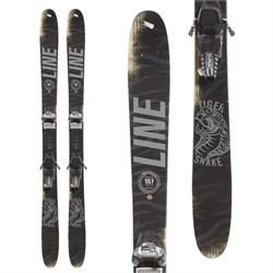 Line Skis Tigersnake Skis + Marker Griffon Ski Bindings  - Used