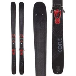 Head Kore 99 Skis + Tyrolia Attack2 13 GW Ski Bindings  - Used