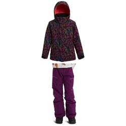 Burton Elodie Jacket + Elite Cargo Pants - Girls'