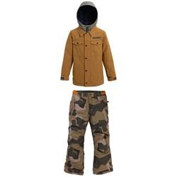 Burton Uproar Jacket - Boys' + Burton Barnstorm Pants - Big Boys'