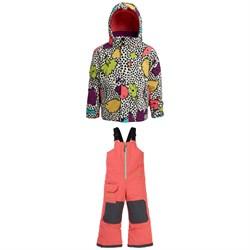 Burton Elodie Jacket - Toddler Girls' + Burton Maven Bibs - Little Kids'